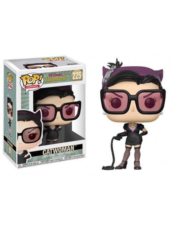 POP HEROES: DC BOMBSHELLS W2 - CATWOMAN W/ CHASE