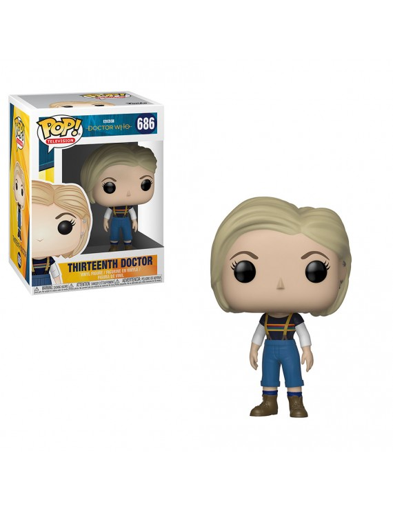 POP VINYL: DOCTOR WHO: 13TH DOCTOR W/OUT COAT