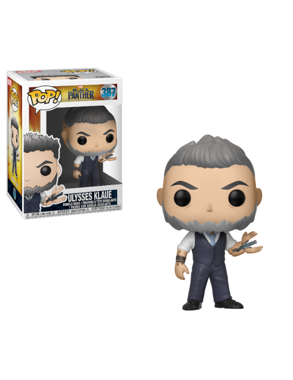 POP BOBBLE: MARVEL: BLACK PANTHER: ULYSSES KLAUE