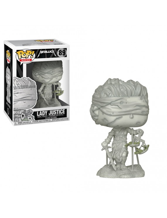 POP VINYL: ROCKS: METALLICA - LADY JUSTICE