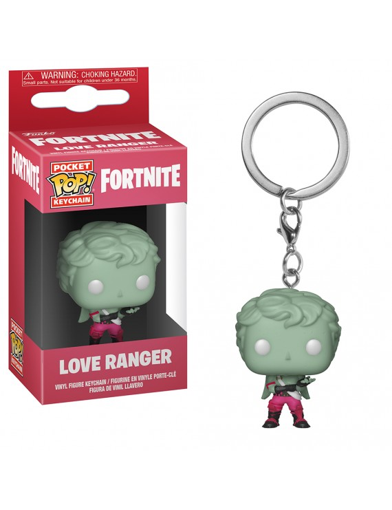 POP KEYCHAIN: FORTNITE S1 - LOVE RANGER
