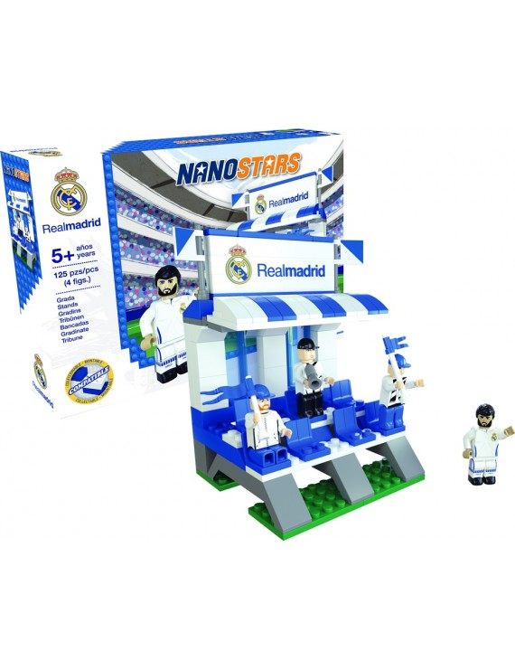 Nanostars Real Madrid tribuna