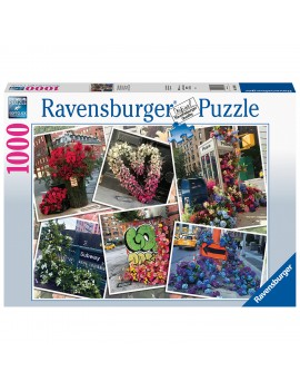 PUZZLE FLORI IN NEW YORK, 1000 PIESE