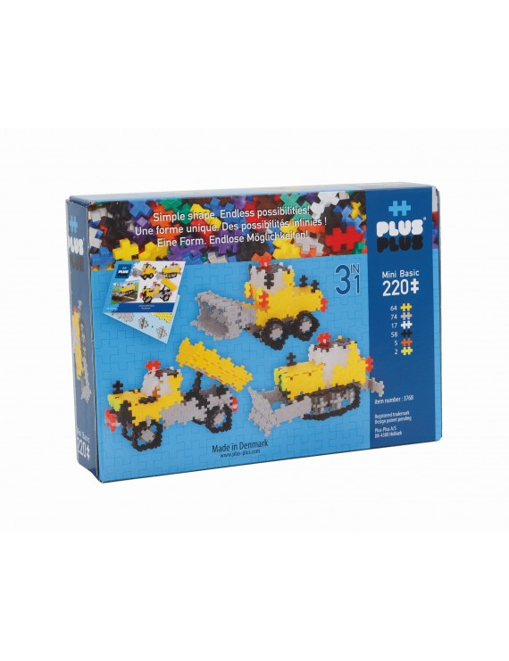Plus Plus Basic Utilaje - 220 Pcs