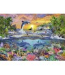 PUZZLE PARADIS TROPICAL, 100 PIESE