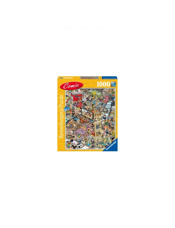 PUZZLE COMIC HOLLYWOOD, 1000 PIESE