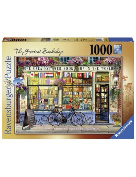 PUZZLE LIBRARIE GROZAVA, 1000 PIESE