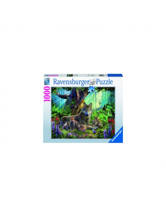 PUZZLE FAMILIE LUPI, 1000 PIESE