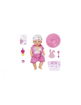 BABY born - Mica papusa interactiva cu corp moale, 36 cm