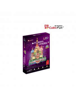 PUZZLE 3D LED CATEDRALA ST. BASIL 224 PIESE