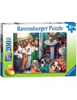 PUZZLE CATELUSI IN BAIE, 200 PIESE